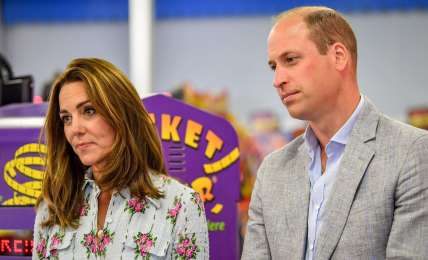 Herzogin Kate und Prinz William verlassen den Palast