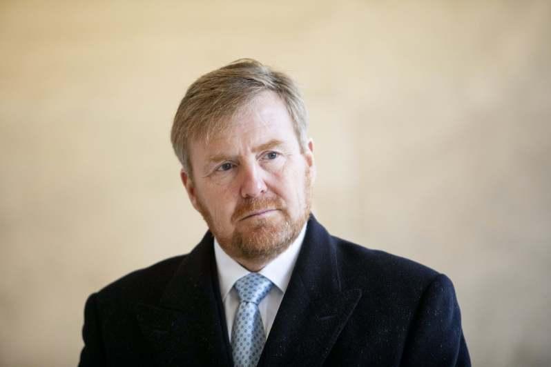 König Willem-Alexander absolviert emotionalen Termin