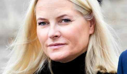 Kronprinzessin Mette-Marit hatte einen Ski-Unfall