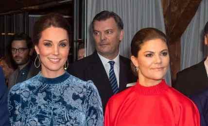 Herzogin Kate und Kronprinzessin Victoria