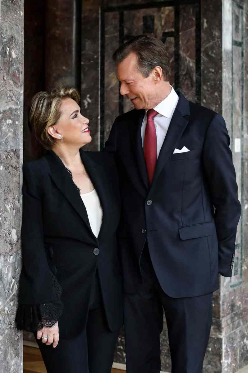 Henri und Maria Teresa von Luxemburg
