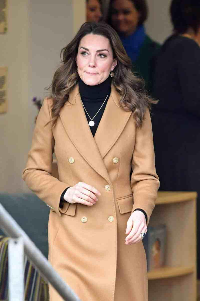 Herzogin Kate: Plötzlich taucht sie in der Menge auf