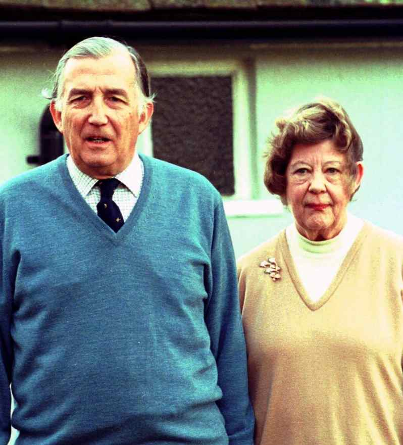 Christopher und Mary Rhys-Jones
