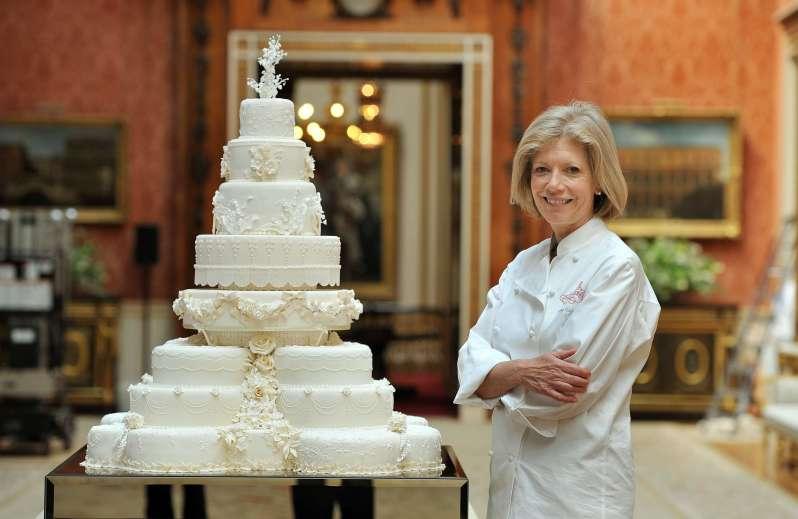 Hochzeitstorte Herzogin Kate und Prinz William