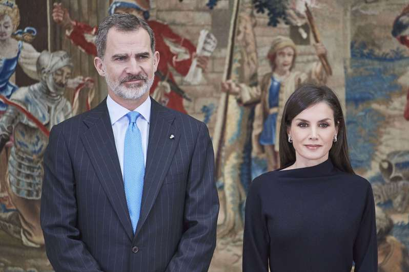Queen Leticia and King Felipe