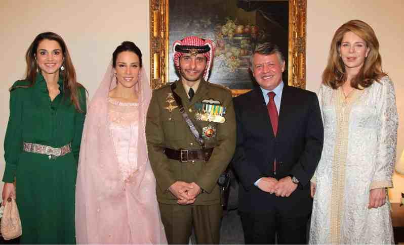 König Abdullah und Prinz Hamsa