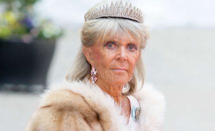 Prinzessin Birgitta versteckte sich im Schrank ihres Liebhabers