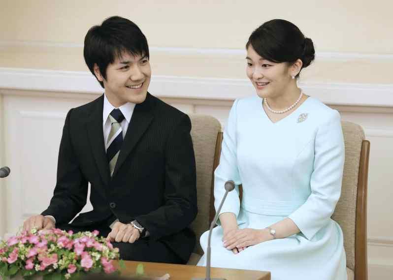 Kei Komuro und Prinzessin Mako