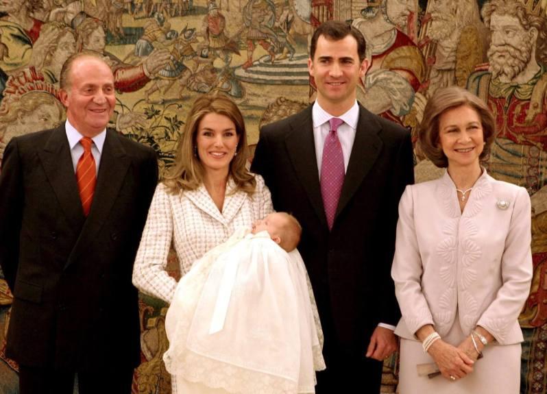 Die Taufe von Prinzessin Leonor