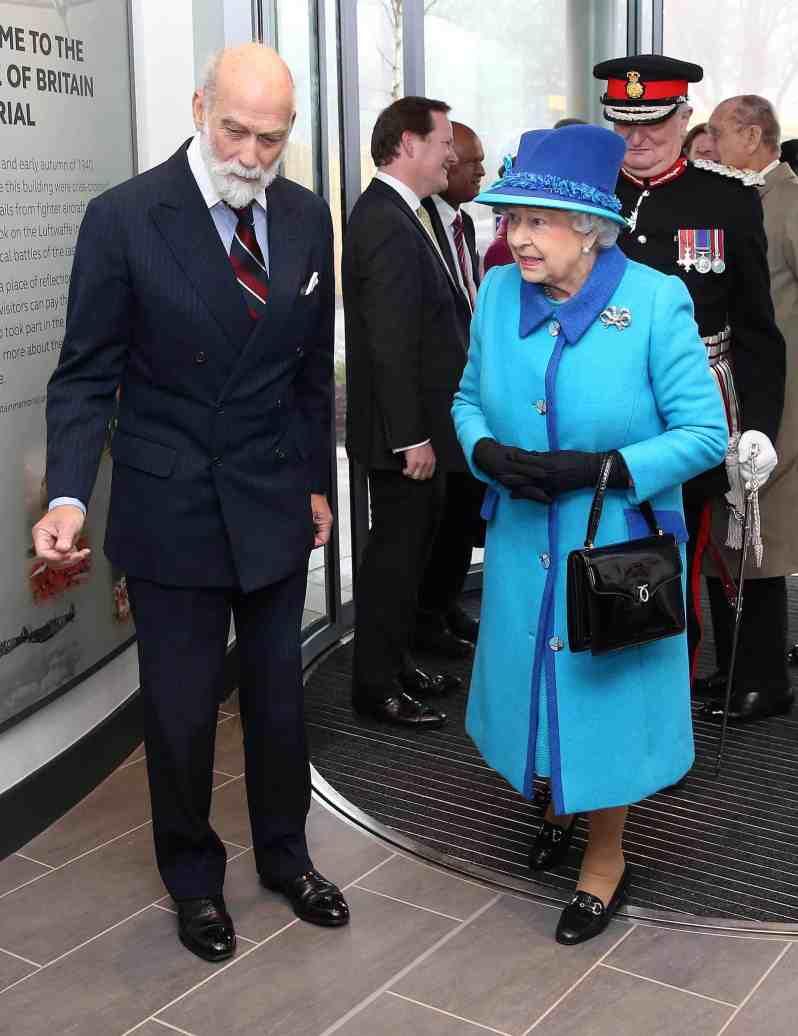 Queen Elizabeth und Michael Kent