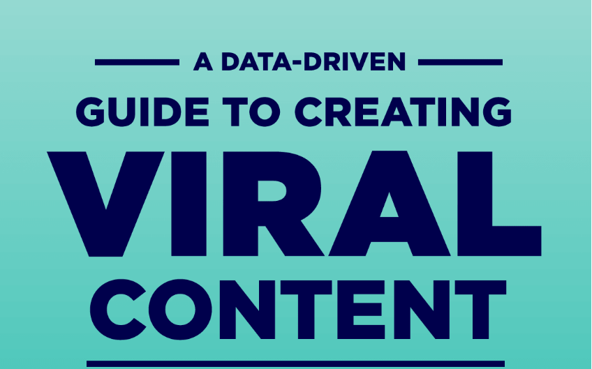 21 Data-Driven Tips On How To Create Viral Content [Infographic]