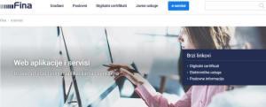 Adeo POS Fiskalna blagajna - FINA web