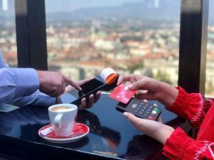 Adeo POS Fiskalna blagajna - Sunmi - M2pay kartična naplata