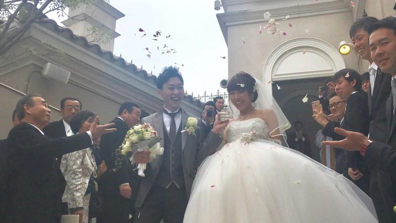 結婚式へ☆