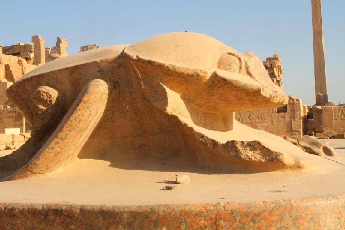 Kheper depiction at Karnak, Egypt. Original Photography by Anyextee