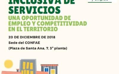 TALLER FORMATIVO CARTERA INCLUSIVA DE SERVICIOS: UNA OPORTUNIDAD DE EMPLEO Y COMPETITIVIDAD EN EL TERRITORIO