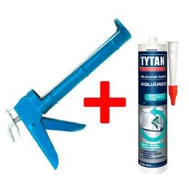 Combo1 Reparo – 1 Silicone Para Aquário Tytan + Aplicador
