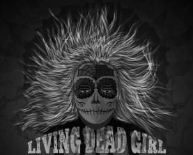 vector dead girl artwork