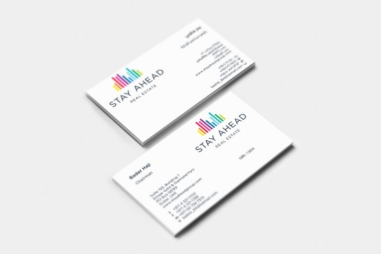 Stay Ahead Business Card