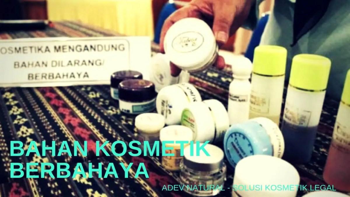 Bahan Kosmetik Berbahaya dan Cara Menggunakan Kosmetik yg Benar