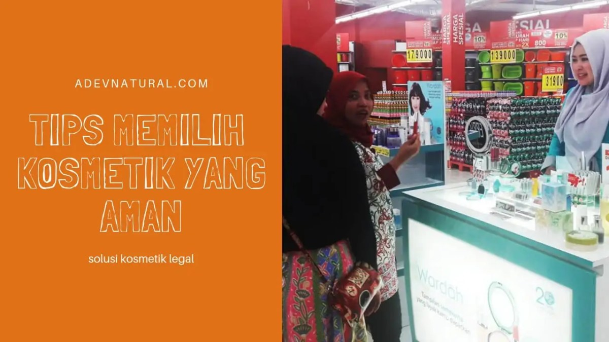 Tips Memilih Kosmetik Yang Aman Bagus Halal utk Ibu Hamil Menyusui