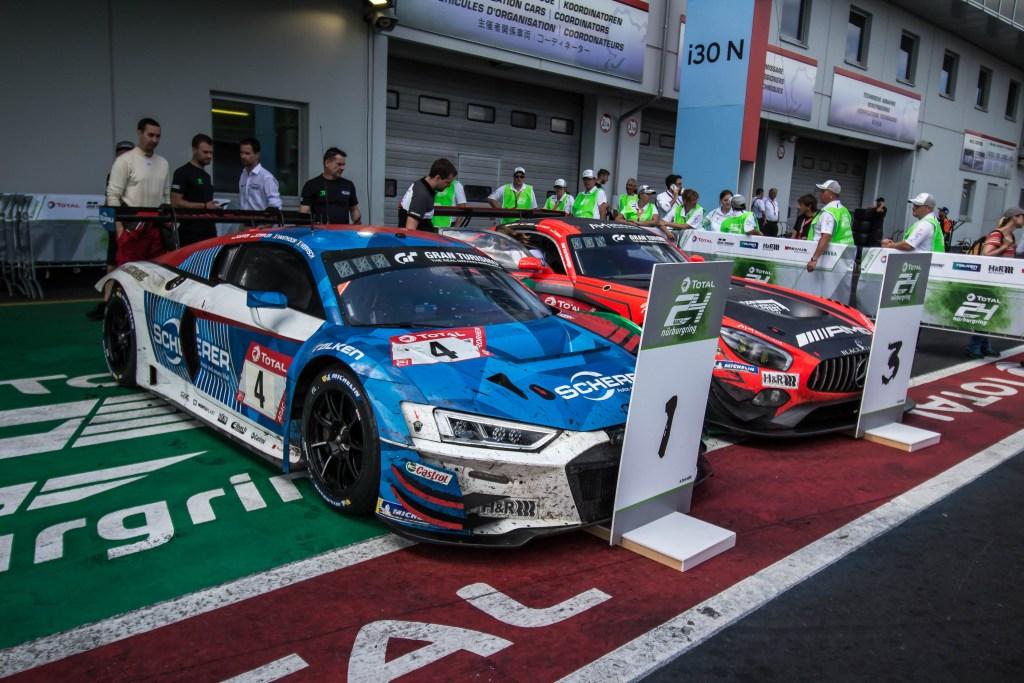 Nurburgring 2019 podium