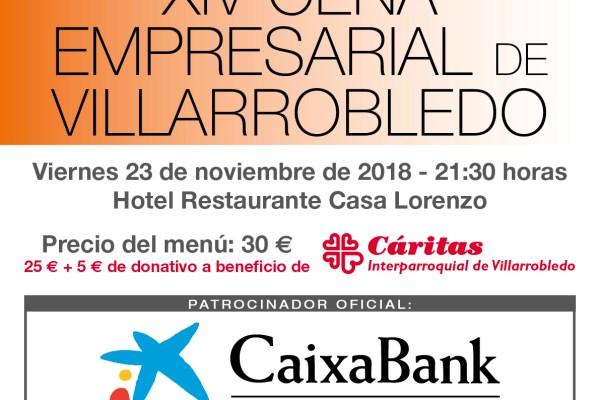 Cena Empresarial y Entrega XIV Premios Quijote ADEVI 2018