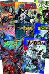 DC Villains Month 3-D Motion Complete Set