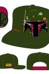 Star Wars Boba Fett Panel Face Snap Back Cap