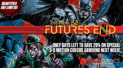 Now's the Time to Reserve DC's Futures End 3-D Motion Comics
