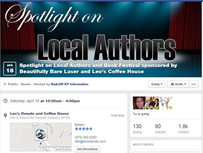SpotlightLocalAuthorsEvent