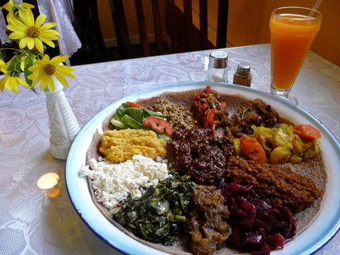 adey abeba ethiopian restaurant seattle featured combo