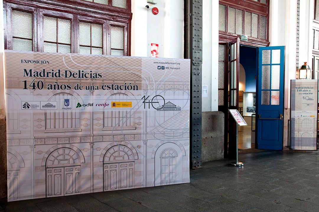 Madrid-Delicias. 140 años de una estación