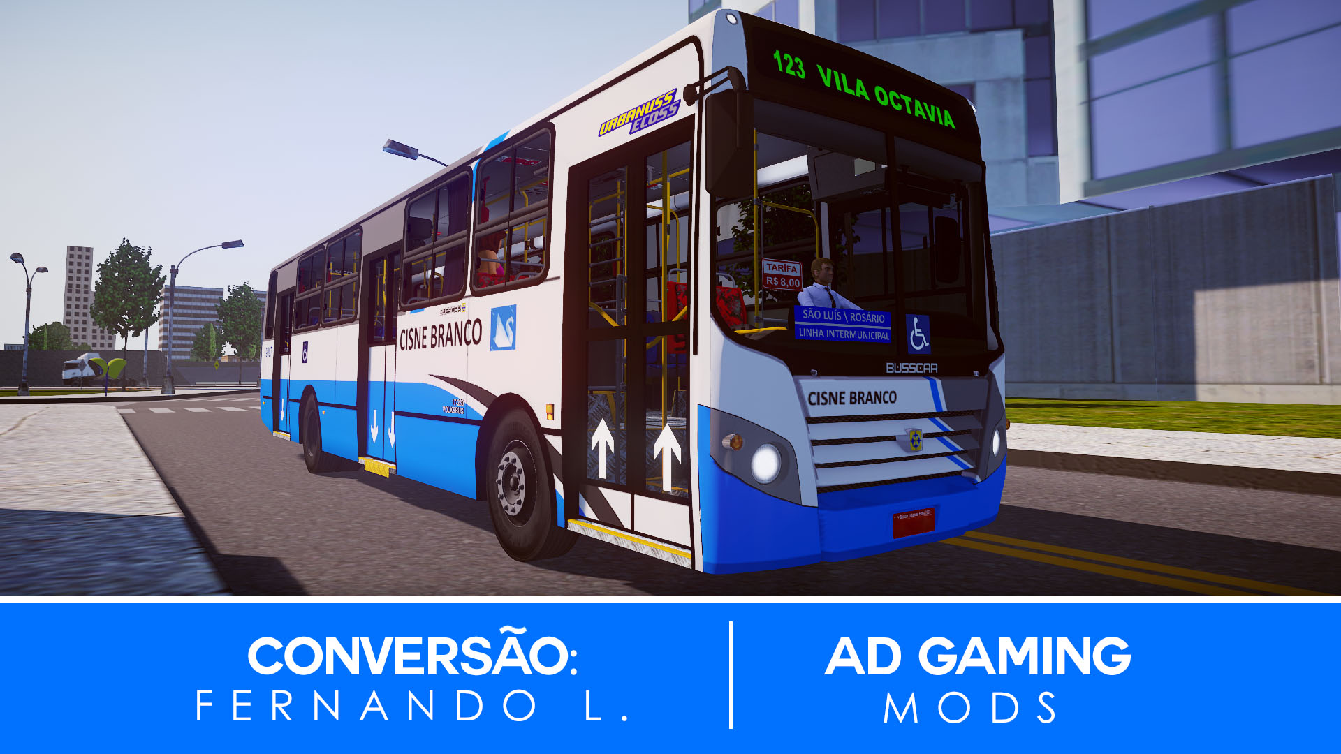 Mod do Busscar Urbanuss Ecoss VW 17.230 EOD para Proton Bus Simulator