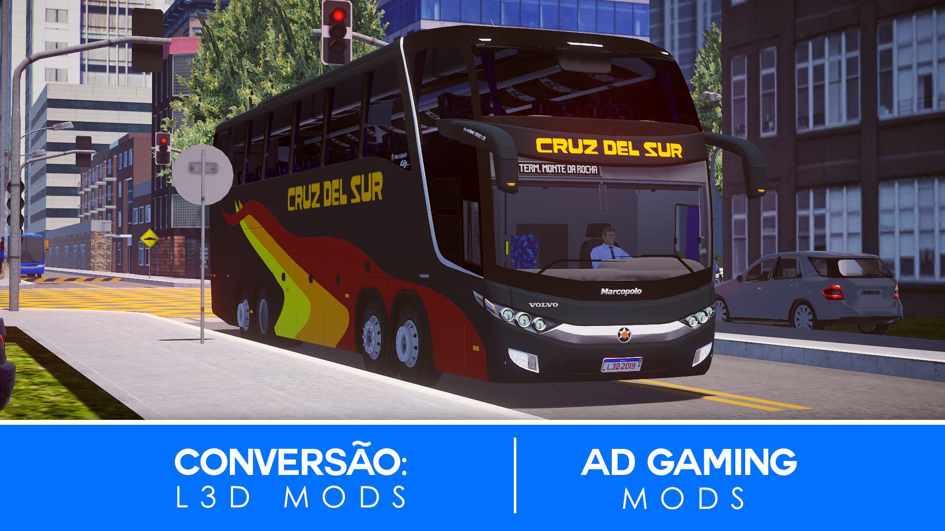 Mod do Marcopolo Paradiso G7 Volvo B420R 8X2 para Proton Bus Simulator/Road