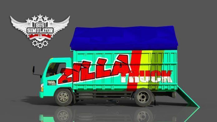 Bus Simulator Indonésia: Mod Truck Canter Minimalis (Download)