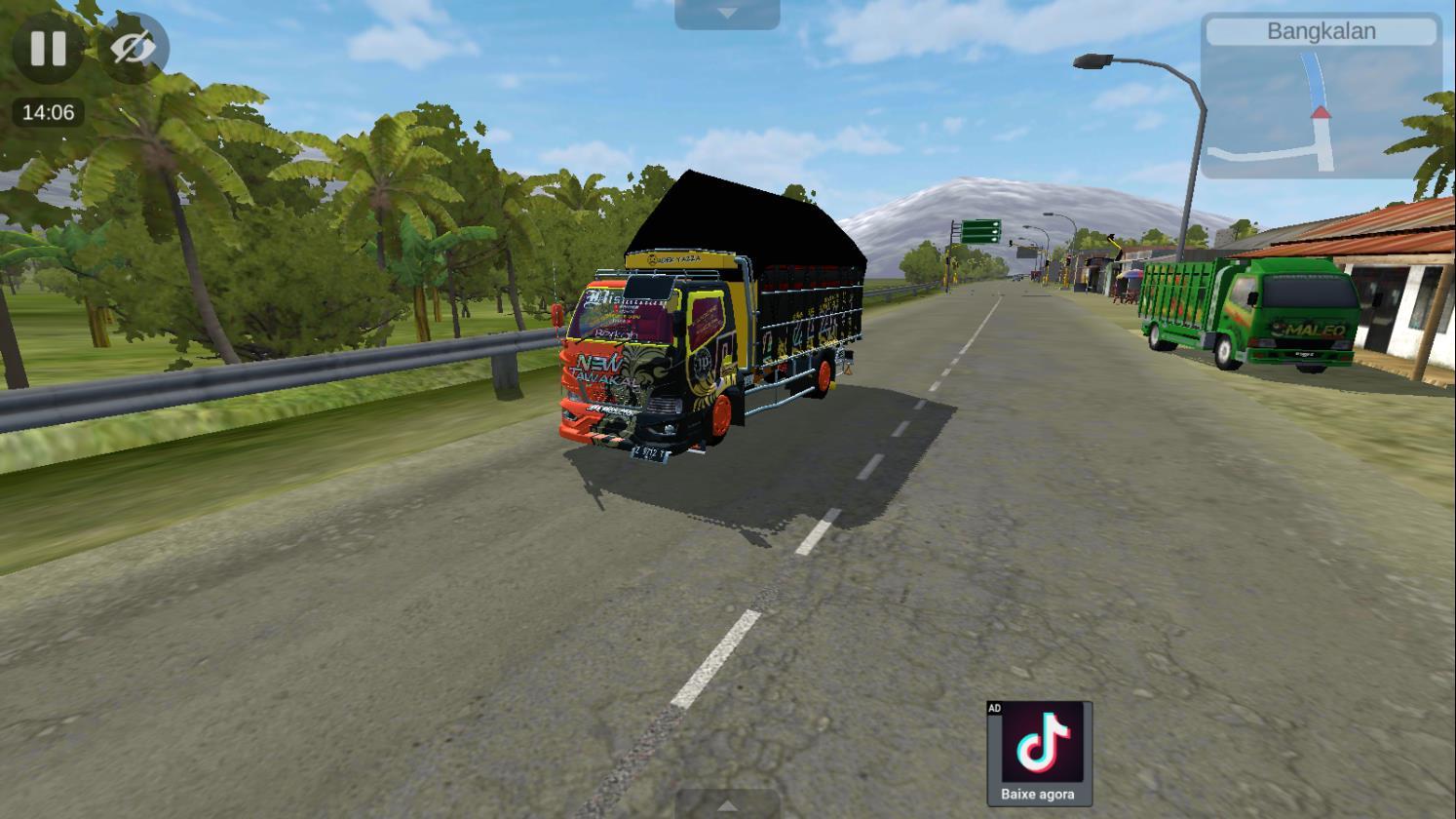 Bus Simulator Indonésia: Mod New Tawakal 4