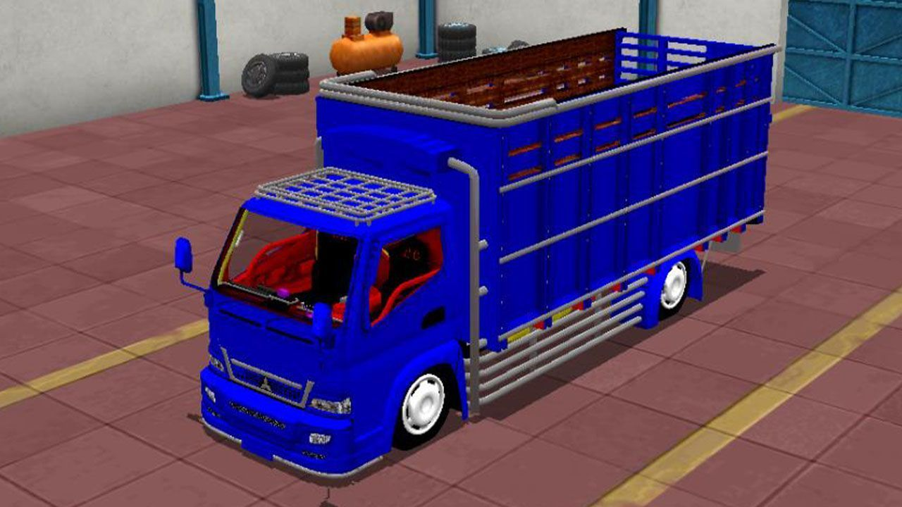 Bus Simulator Indonésia: Canter Minimalis *Full Animation
