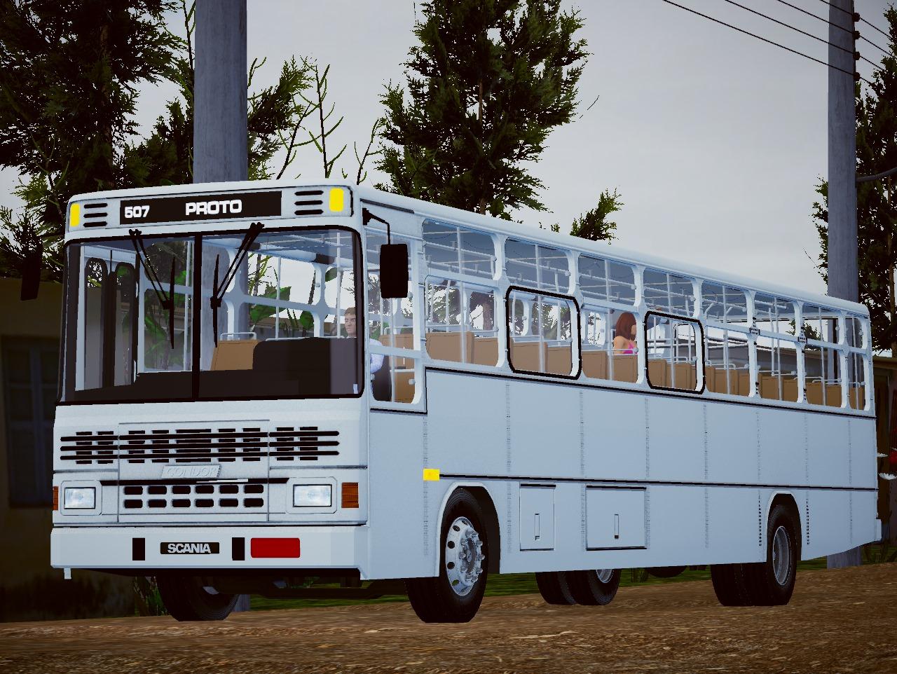 Condor Urbano Scania F-112 HL (Fase 2) para Proton Bus Simulator/Road
