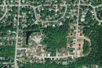 Oak Run Estates Aerial