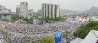 Corea (2014): Dos millones de almas oyen al Vicario de Cristo predicando la Santa Fe Católica