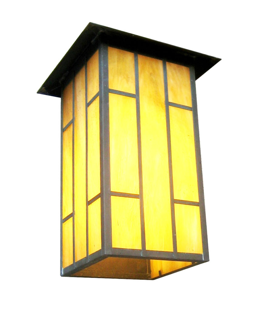 530 Cfl Br W Sh Ambrose Craftsman Lantern Wall A ADG Lighting
