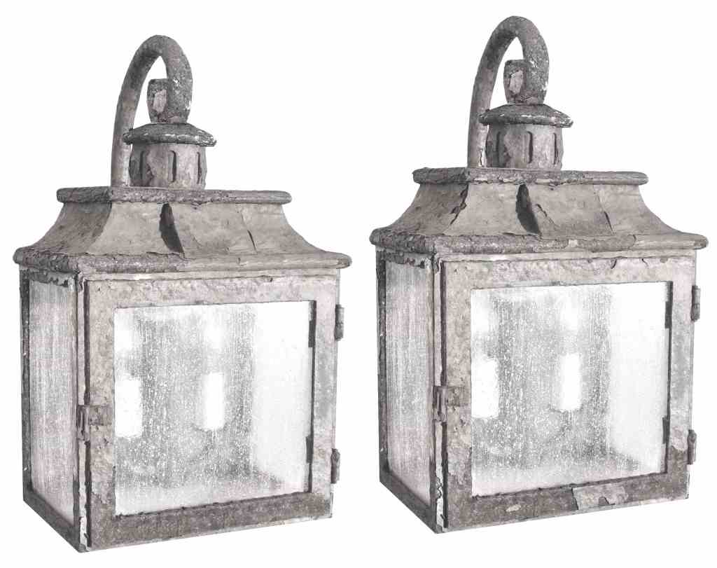 80496 Cb2 Ir W Ba Rustic Iron Lantern Wall Light Old World Lighting ADG Lighting