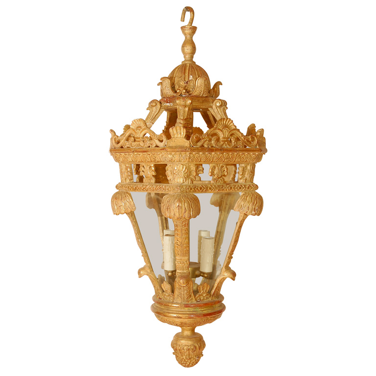 846 Mb1 Res H Ca Reproduction Wood French Regency Lantern ADG Lighting