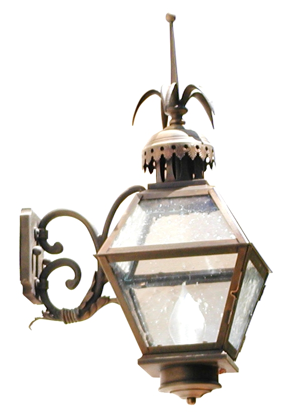920 Mb1 Br W Sh Alejandro Lantern ADG Lighting Reproduction ELA