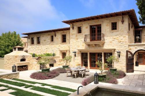 Carmel Valley Estate By Michael Berman Lanterns By ADG Lighting 6