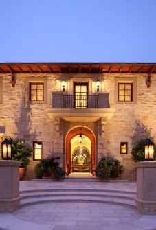 Carmel Valley Estate By Michael Berman Lanterns By ADG Lighting 8