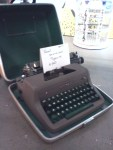 Royal Quiet De Luxe Portable Typewriter With Carrying Case