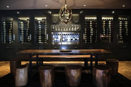Wine Dine Modern Light Cut Pendants Manhattan Country