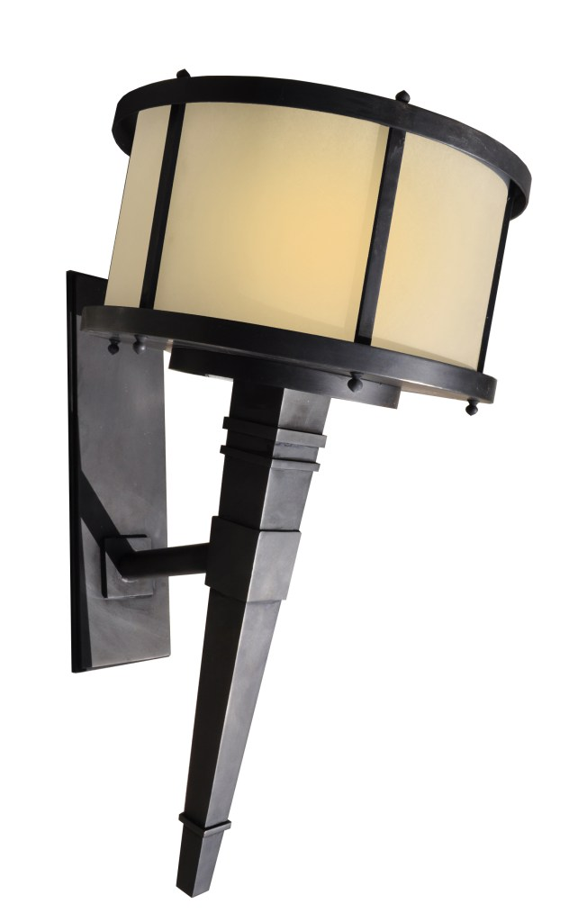 5208 LED Ss W Ba Stainless Steel Brass Plated Torch Light Transitional Lighting 1  – ADG Lighting